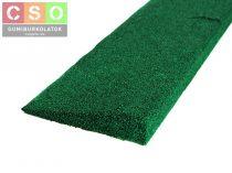 Gumi indító profil 30mm zöld