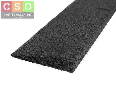 Gumi indító profil 20mm fekete