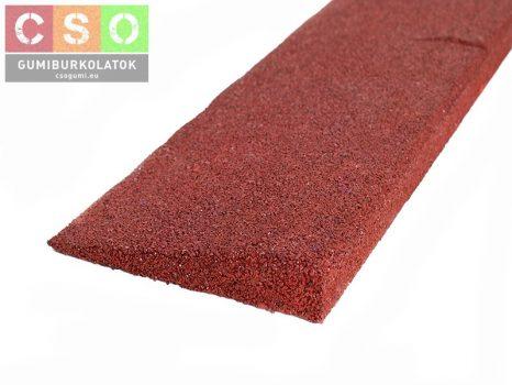Gumi indító profil 30mm vörös