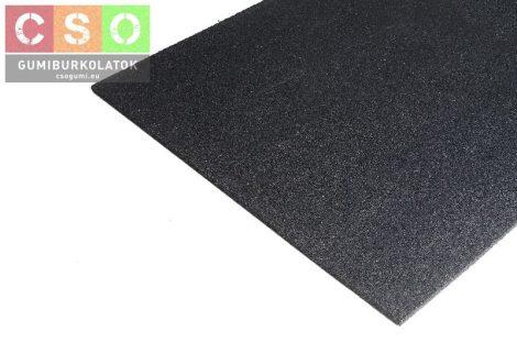 Prémium fitnesz gumilap 15x1000x1000mm fekete