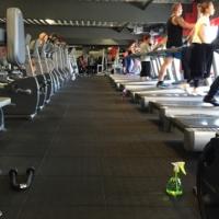 Fitness gumilap